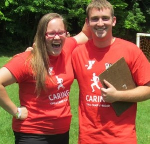 Counselors at YMCA Camp Y-Noah.