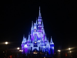 Cinderella Castle at Christmas Season 2