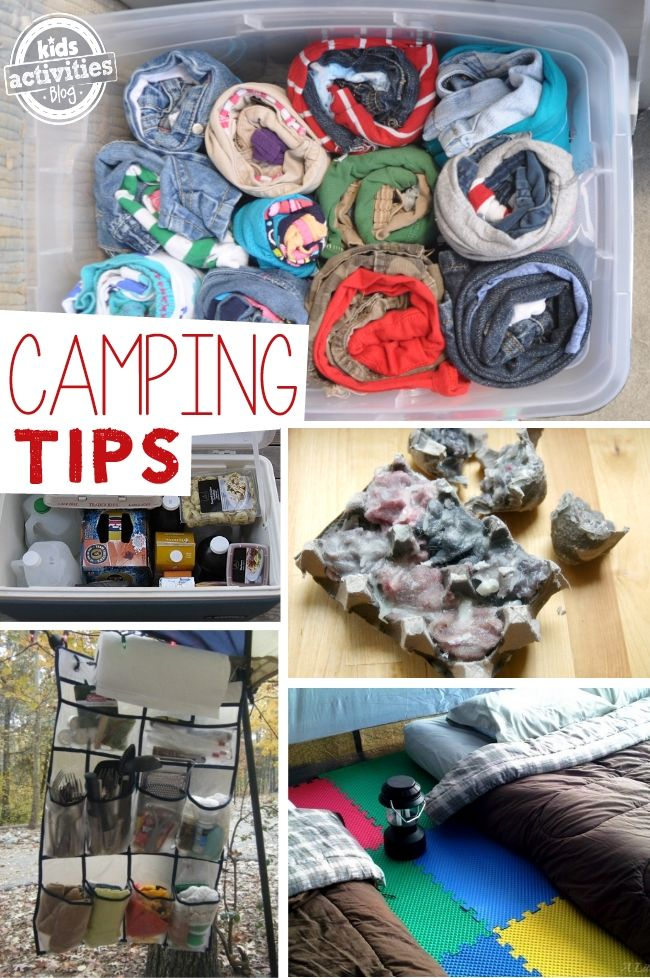 Parent Tip Of The Week Camping With Kids Ideas From Pinterest