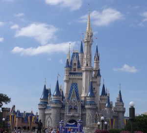 Picture perfect day in Magic Kingdom
