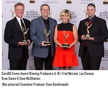 CavsHQ Emmy award winning producers