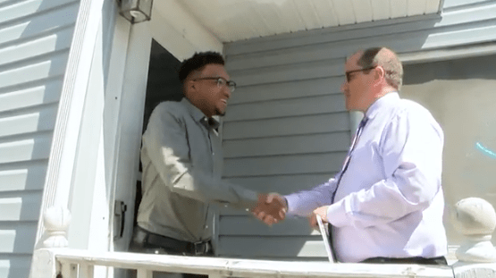 Cleveland Metropolitan School District surprises scholarship winner.