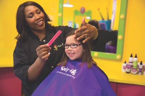 Snip-its voted best place for a kids haircut