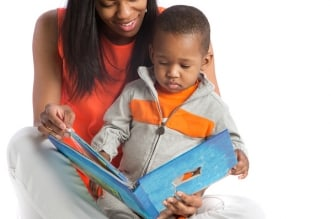 Reading to infants results in literacy skills later in life.