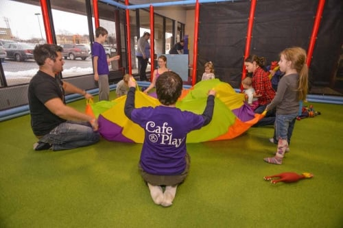 Cafe O Play offers indoor fun for kids