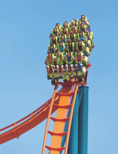 Cedar Point is an Ohio destination for families.