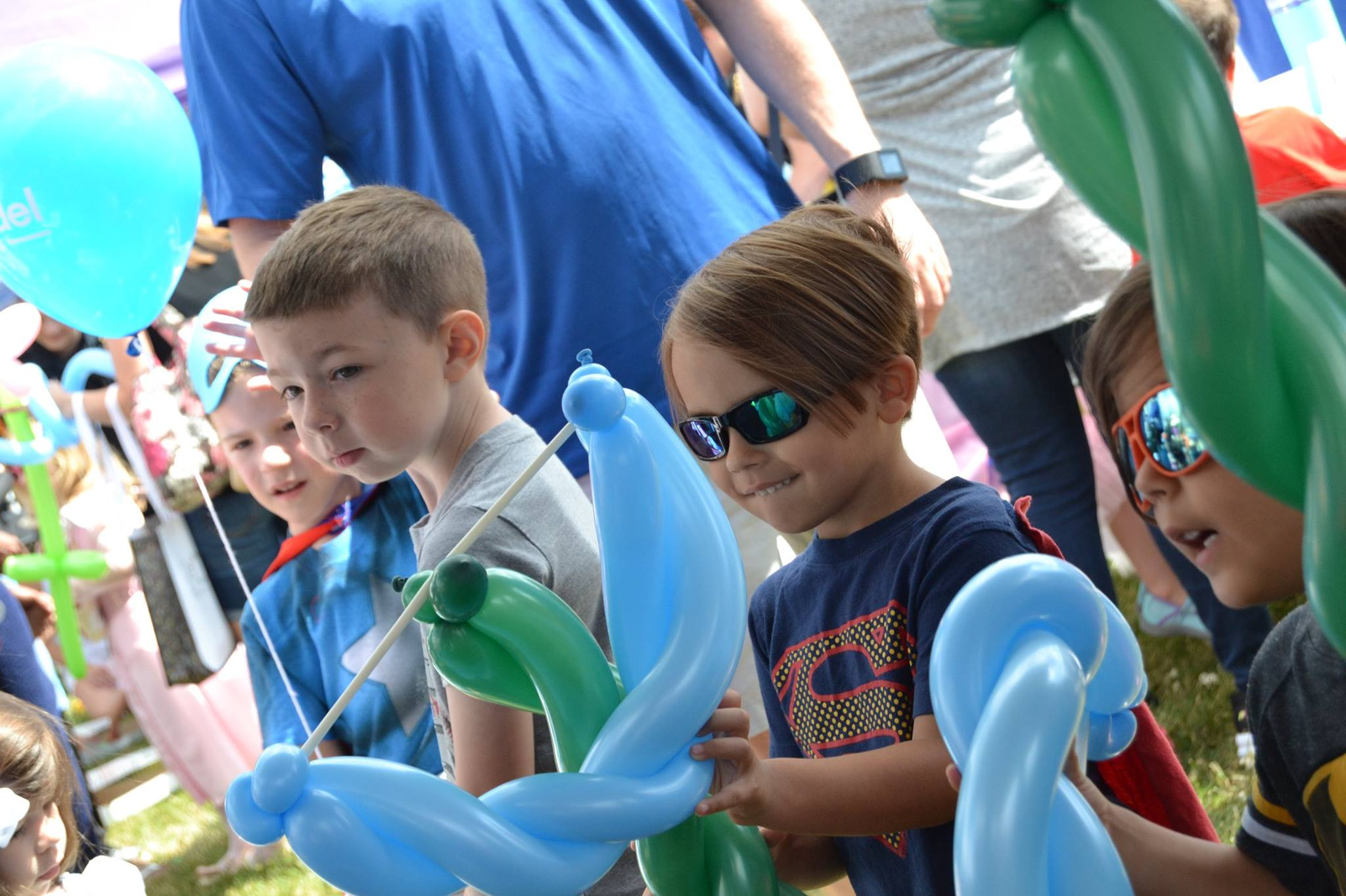 Balloon creations by The Twister Girl at Eton Explorers
