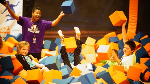 Sky Zone wins Best Jump Center for kids