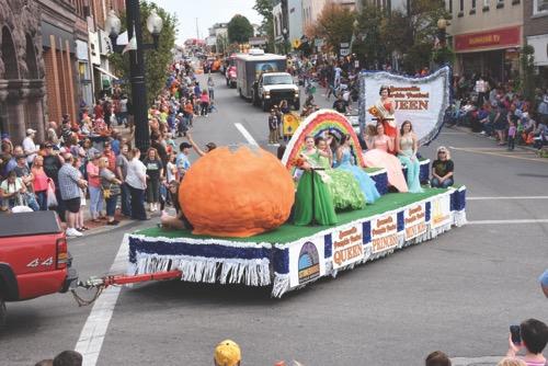 Fall events in Ohio: Barnesville Pumpkin Festival