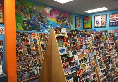 John and Carol's Comic Book Shop