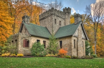 Squires Castle in the Cleveland Metroparks