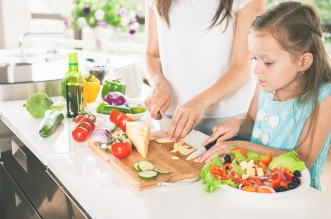 Meal prep and healthy snack choices for busy parents.