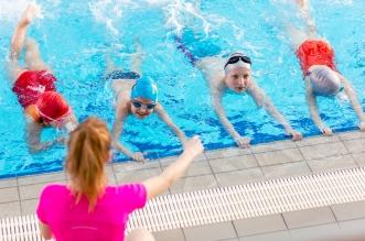 Goldfish Swim School offers shares benefits of year-round swimming