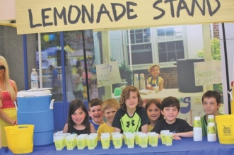 Alex's Lemonade Stand raises money for a cure for childhood cancer.