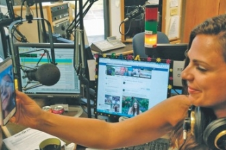 Sara Carnes, of 95.5 the Fish in Cleveland