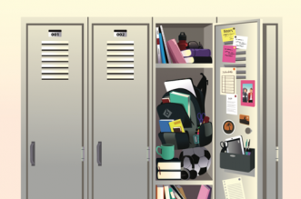 Ideas for locker organizers