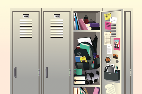 High School Locker Organizer