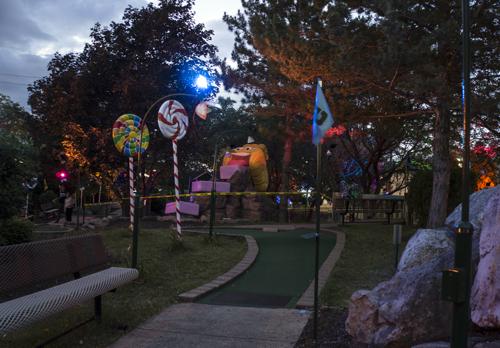 Cleveland mini golf