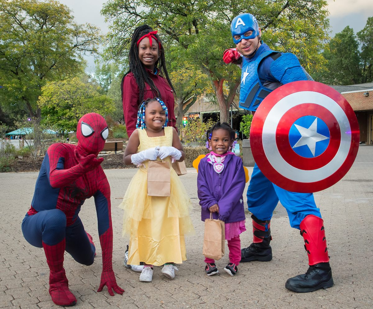 Things to do in Cleveland: family halloween fun