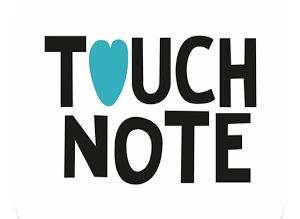 TouchNote app