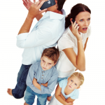 Cell phones and kids behavior
