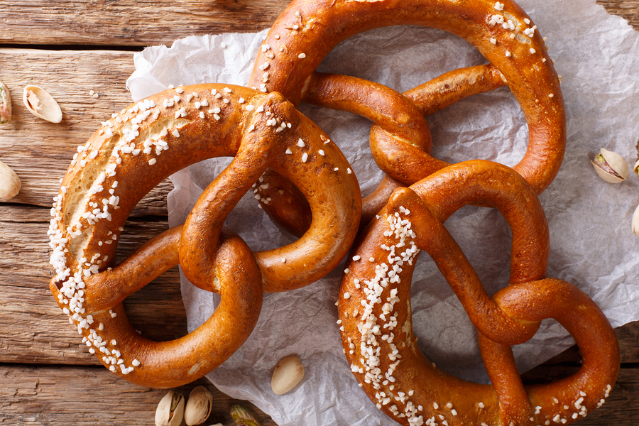 Best pretzels in Cleveland, Ohio