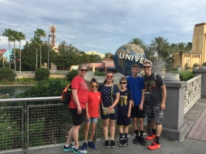 Our last vacation to Universal Studios Orlando