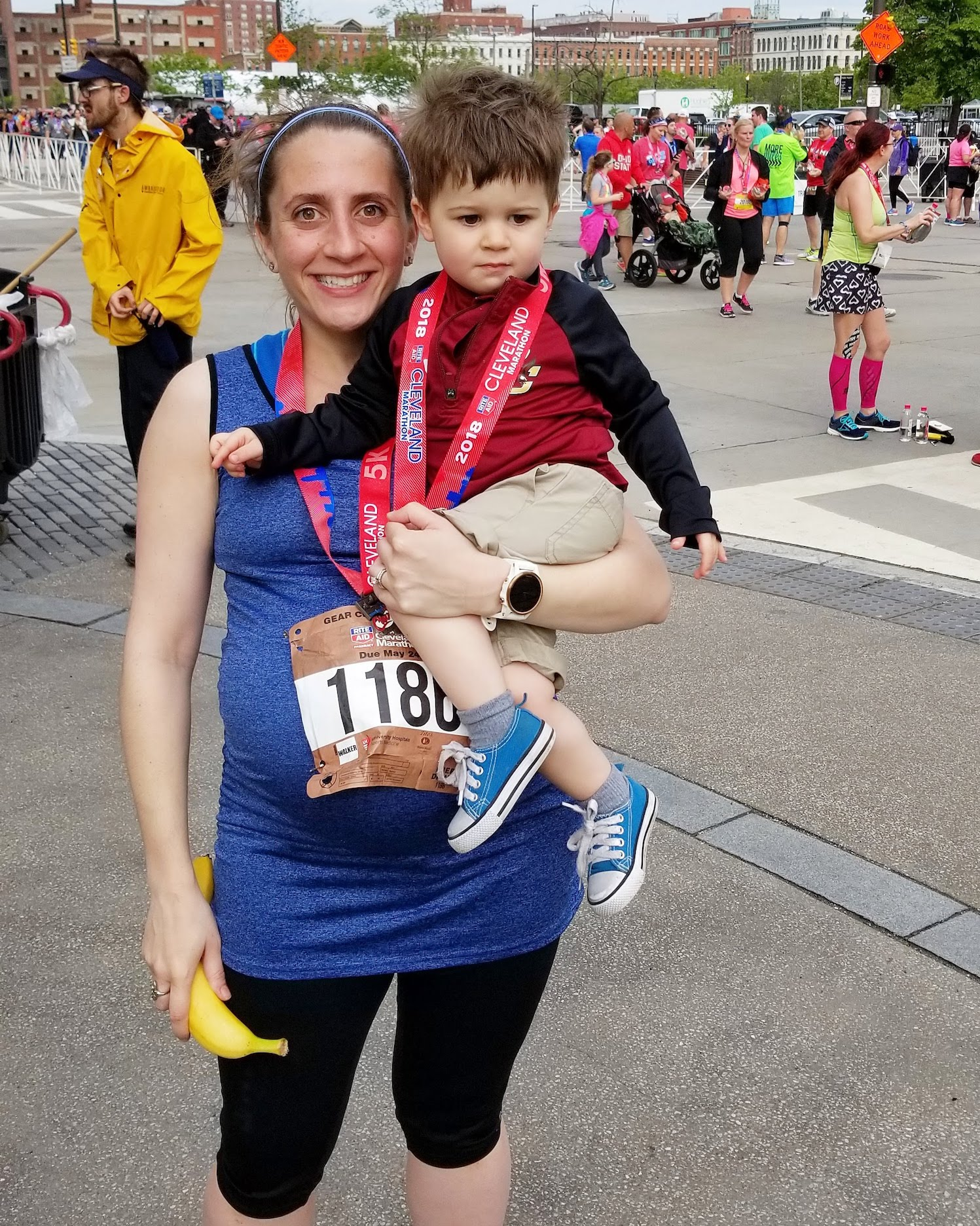 Benefits of running during pregnancy