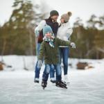 ice skating in Cleveland, Ohio