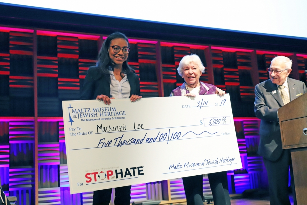 maltz museum stop the hate essay contest